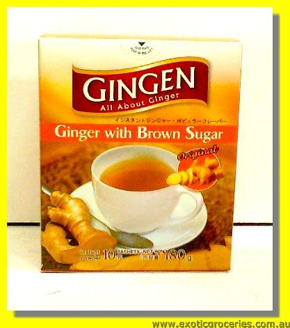 Instant Ginger Drink with Brown Sugar 10sachets