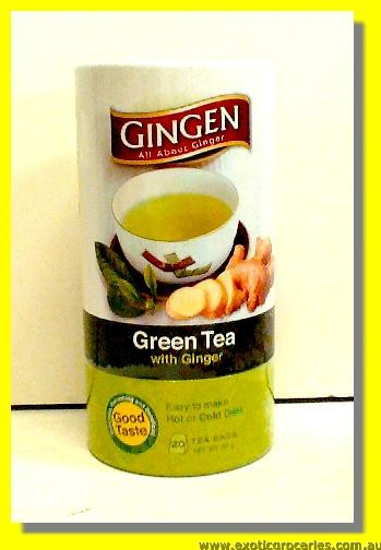 Green Tea with Ginger 20teabags