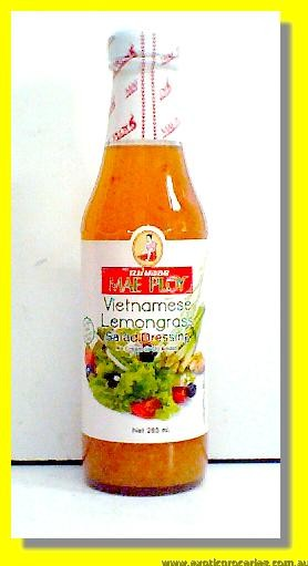 Vietnamese Lemongrass Salad Dressing