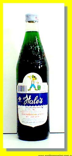 Hale's Concentrated Artificial Cream Soda Flavoured Syrup