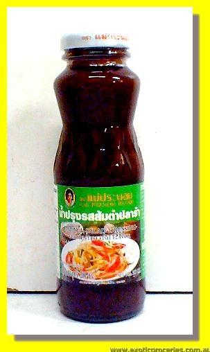 Papaya Salad Dressing Fermented Fish Flavour