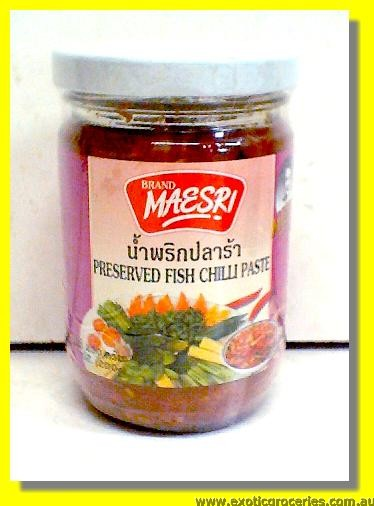 Preserved Fish Chilli Paste