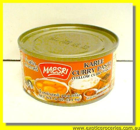 Karee Curry Paste (Yellow Curry Paste)
