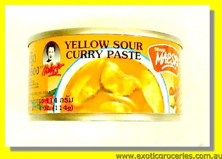 Yellow Sour  Curry Paste