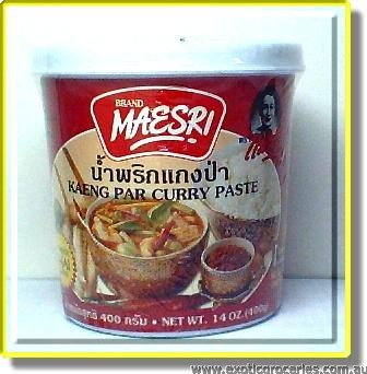 Kaeng Par Curry Paste