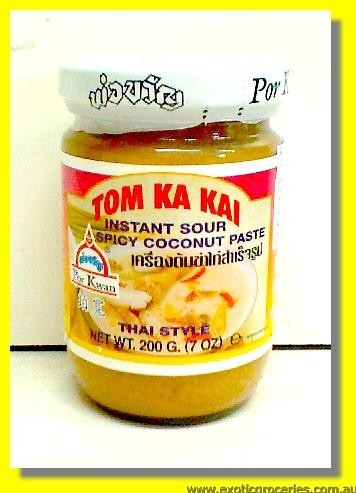 TOM KA KAI Instant Sour Spicy Coconut Paste