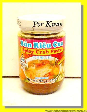 Spicy Crab Paste (Bun Rieu Cua)