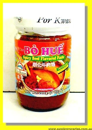 Spicy Beef Flavoured Paste Bo Hue