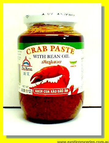 Crab Paste with Bean Oil