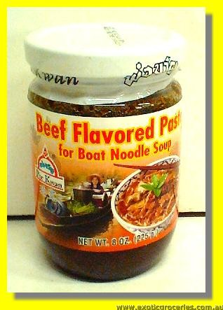 Beef Flavored Paste For Boat Noodle Soup