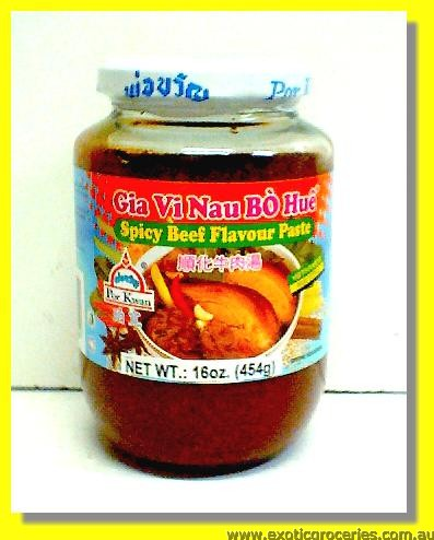 Spicy Beef Flavour Paste