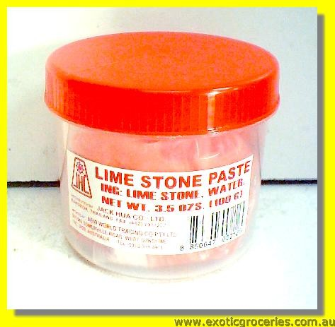 Lime Stone Paste Red