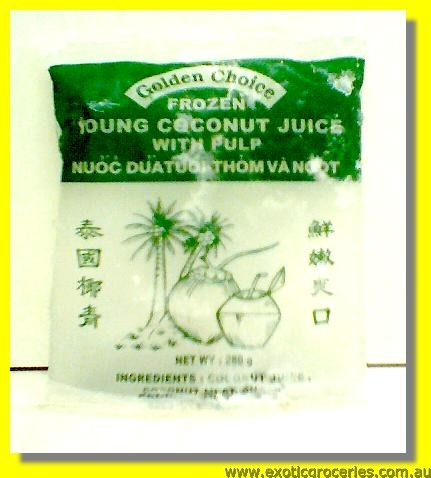 Frozen Coconut Juice with Pulp