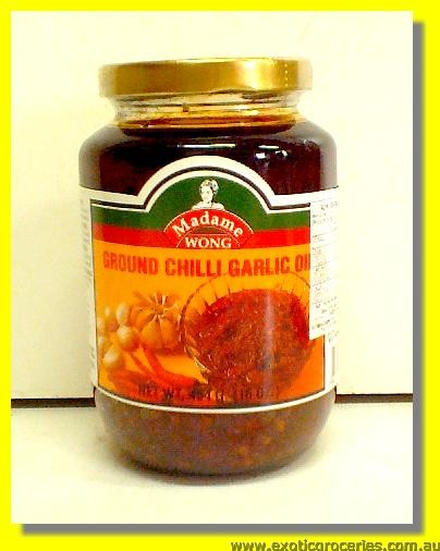Ground Chilli Garlic Oil
