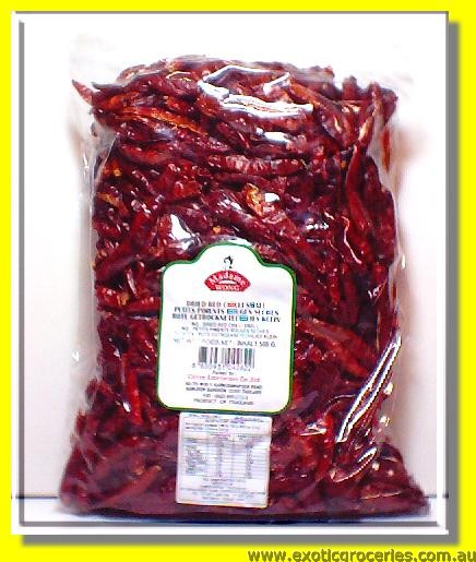 Dried Red Chilli Small