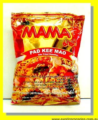 Pad Kee Mao Instant Noodle