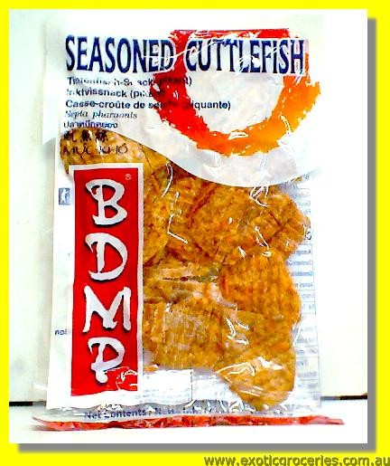 Seasoned Cuttlefish Snack