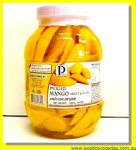 Pickled Mango (Sweet & Sour)