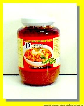 Instant Sour Shrimp Paste (Tom Yum)