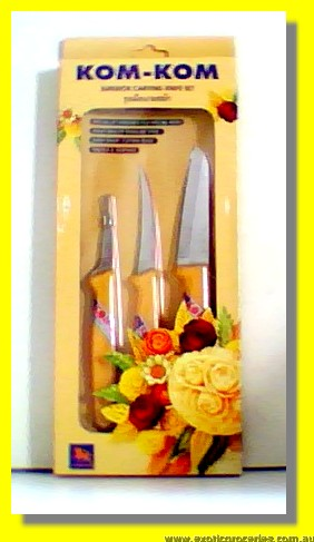 Superior Craving Knife Set 3pcs