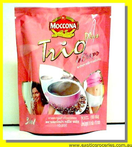 Instant Coffee Trio Plus in Shape 10sticks