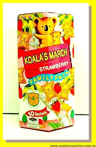 Koala's March Strawberry Chocolate Snack 10sachets