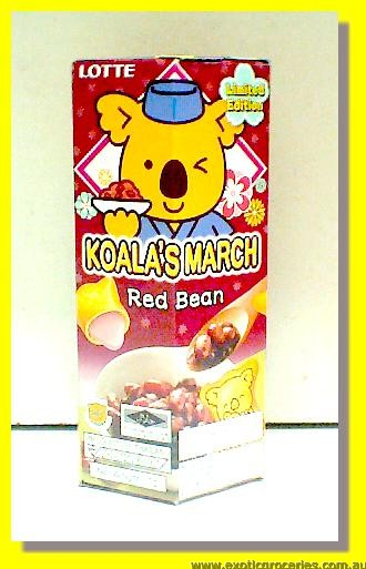 Koala's March Red Bean Flavour Biscuits