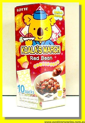 Koala's March Red Bean Family Snack 10packs