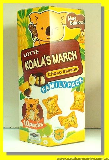 Koala's March Choco Banana Biscuits 10packs