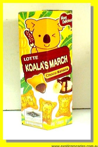 Koala's March Choco Banana Flavour