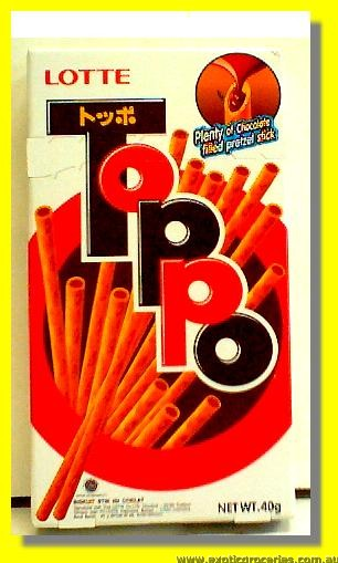 Toppo Chocolate Biscuits Stick