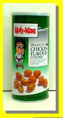 Peanuts Chicken Flavour Coated
