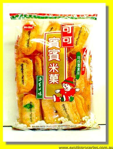 Seaweed Flavor Rice Crackers