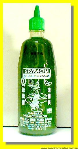 Green Sriracha Hot Chili Sauce