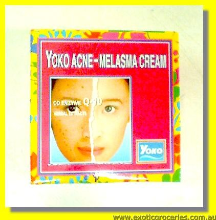 Acne Melasma Cream with Q10 Herbal Extracts