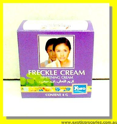 Freckle Whitening Cream