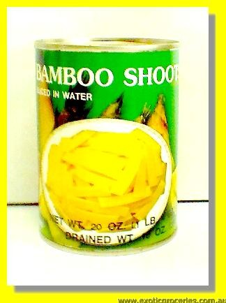 Bamboo Shoots Sliced in Water