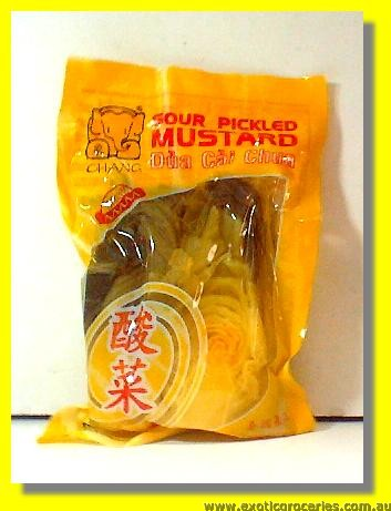 Pickled Sour Mustard