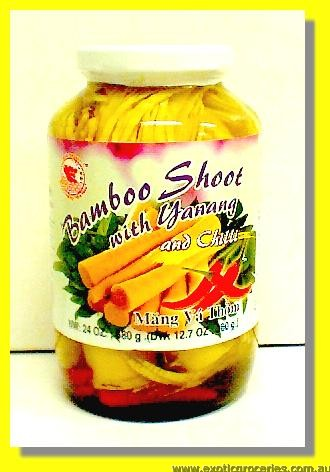 Bamboo Shoot with Yanang and Chilli