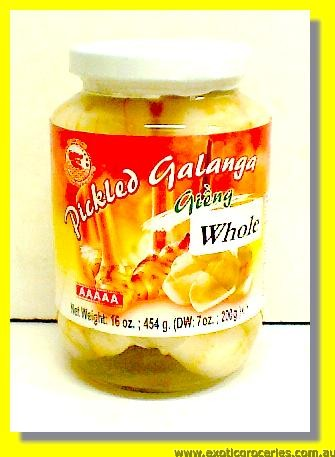 Pickled Galanga Whole
