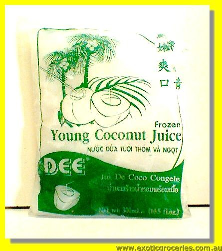 Frozen Young Coconut Juice (Bag)