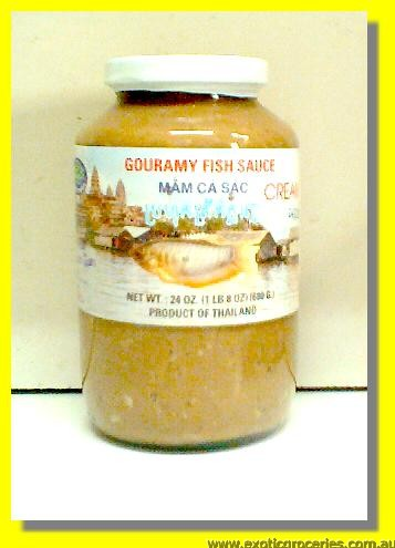 Gouramy Fish Sauce Cream Mam Ca Sac