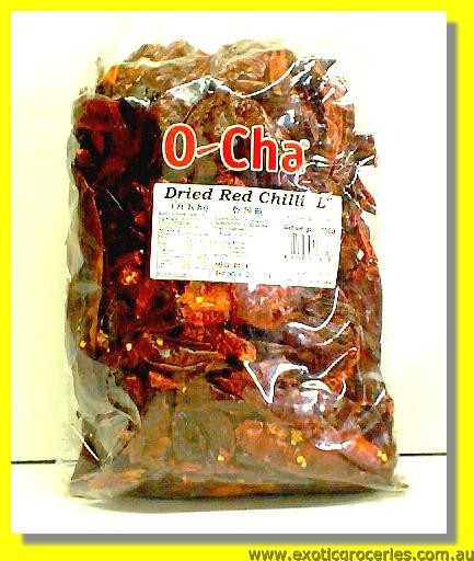 "Dried Red Chilli ""L"""