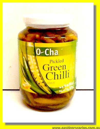Pickled Green Chilli Whole