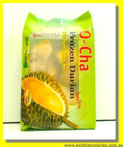 Frozen Durian Monthong Without Seed