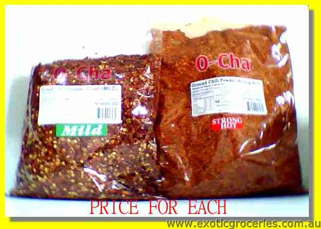 Dried Chilli Powder Crushed Strong Hot
