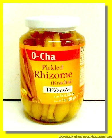 Pickled Rhizome Krachai Whole