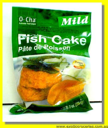 Frozen Fish Cakes Mild