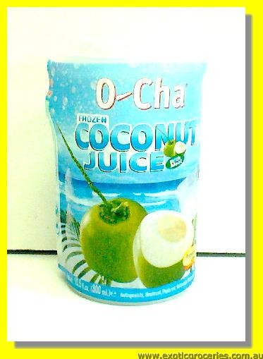 Frozen Coconut Juice (Cup)
