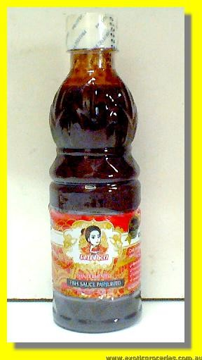 Thai Fermented Fish Sauce Pasteurized